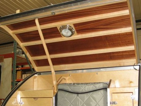 Teardrop Trailer Interiors