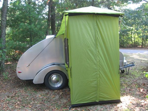 The Side Tent Can Attach To Either Of Trailer