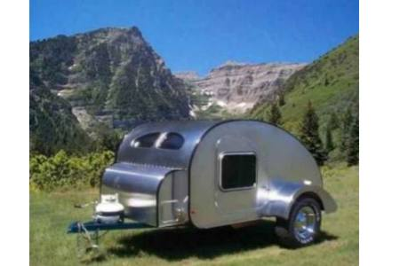 Teardrop travel Trailer